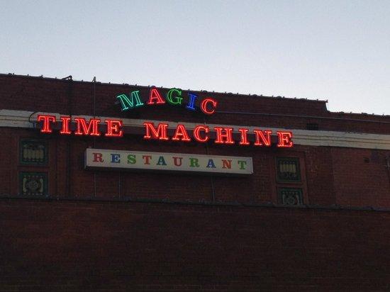 magic time machine hours