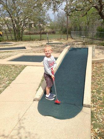 Mini Golf Picture Of Kiddie Acres Austin Tripadvisor