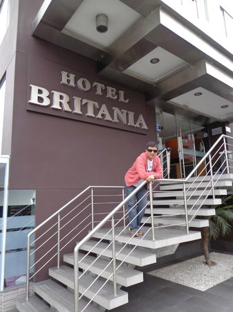 Hotel Britania Miraflores: Disfrutando mi estadía en el Britania Miraflores