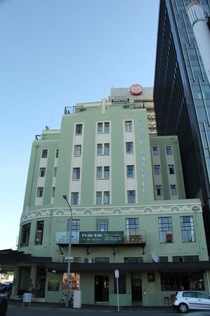 Hotel Waterloo & Backpackers: The hotel