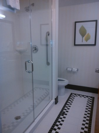 Fairfield Inn and Suites Austin North / Parmer Lane: bathroom
