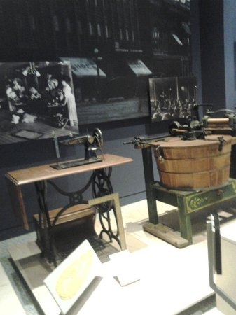 Indiana State Museum: Taken in the Hoosier History Section, Sears sewing machine