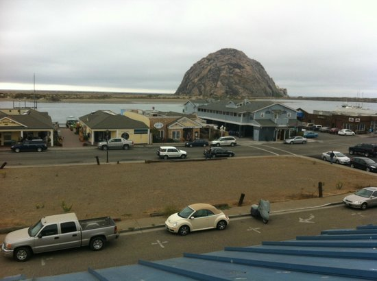 Blue Sail Inn: View from balcony