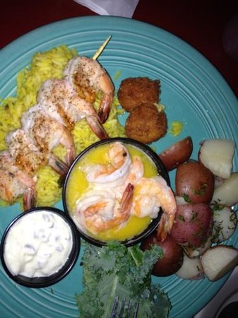 Victorio's Oyster Bar and Grille: shrimp delight