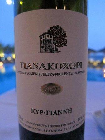 Aphrodite Restaurant @ Mykonian Ambassador Hotel: ΓianakoxΩpi2009