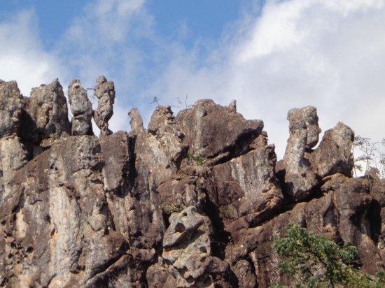 Salitre Grotto: Formações rochosas