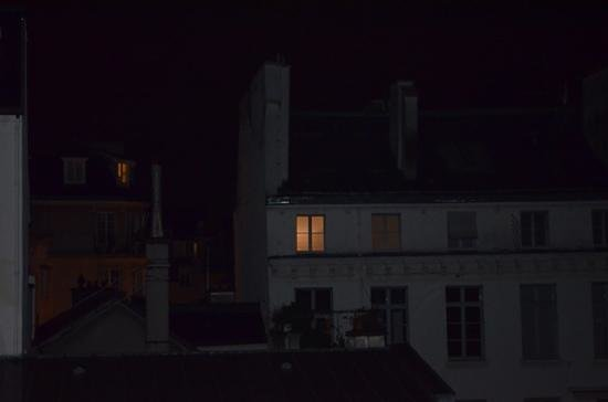 Hotel de l'Universite : my view at night, quite charming
