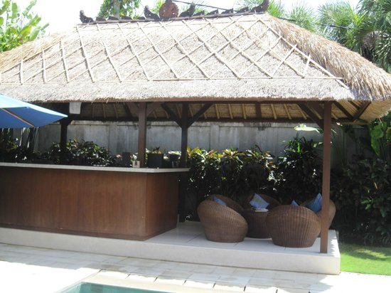 Villa Bugis : Great Place to Hang in evening!