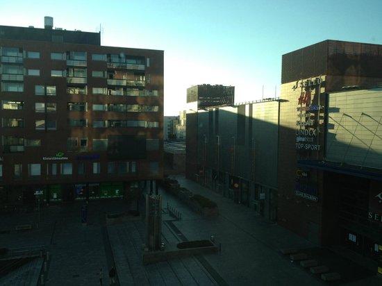 GLO Hotel Sello: вид из окна