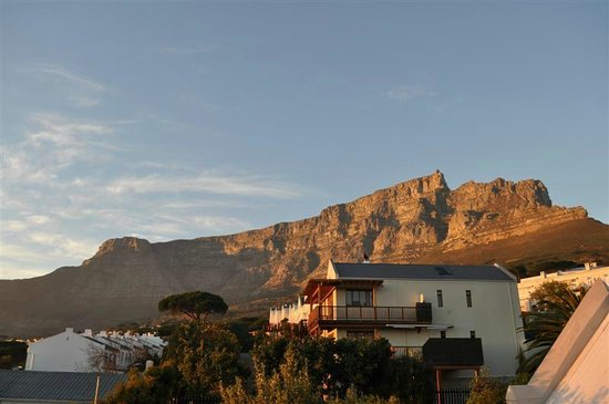 Rosedene Guest House : What a fantastic view on Table Mountain