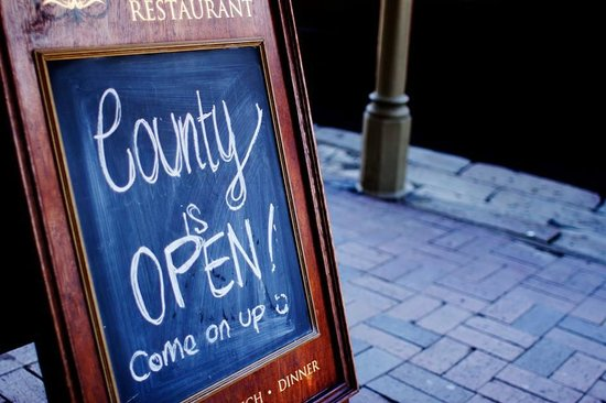 County Dining: Just Opened