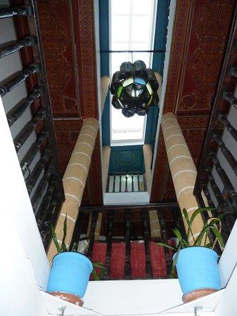 L'Etoile de Mogador : les étages