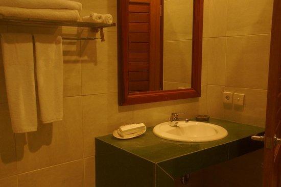 Bhuwana Ubud Hotel: バスルーム