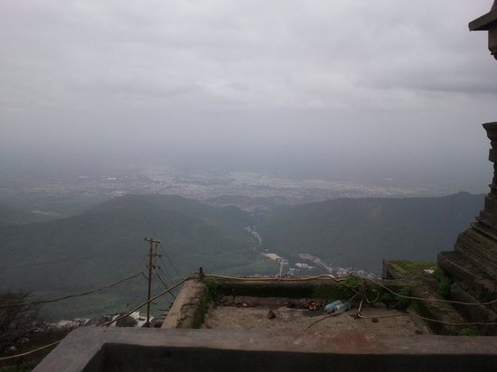 Girnar Temples: There is the peak of Ambaji, with a height of 3,330 ft (1,010 m)
