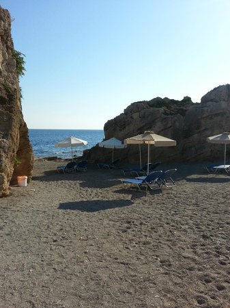 The Kresten Royal Villas & Spa : plage de l'hôtel