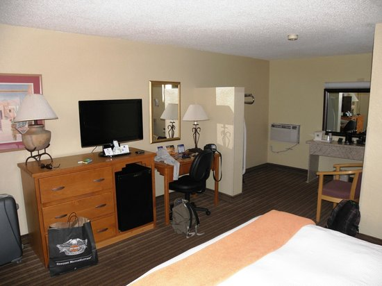 BEST WESTERN Turquoise Inn & Suites : Camera da letto