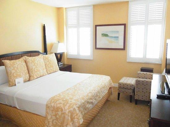 Hilton Grand Vacations at Hilton Hawaiian Village: ベッドルーム