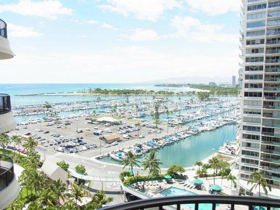 Hilton Grand Vacations at Hilton Hawaiian Village: 部屋からの眺め