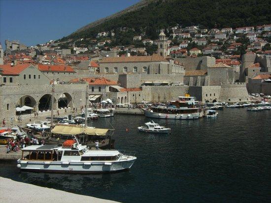 Valamar Dubrovnik President Hotel: zicht op Dubrovnik