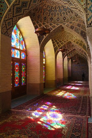 Shiraz, Iran: Inside the winter prayer room