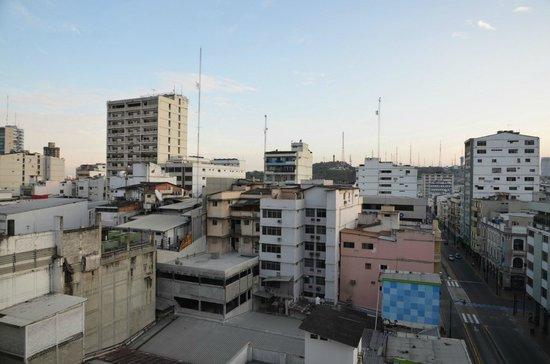 Casa de Romero : vu de l hotel