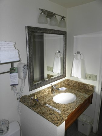 BEST WESTERN PLUS A Wayfarer's Inn and Suites: Lavabo