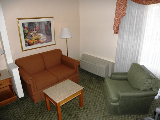 BEST WESTERN PLUS A Wayfarer's Inn and Suites: Soggiorno