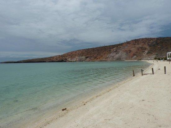 Playa Pichilingue (Pichilingue Beach): La spiaggia