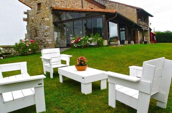 Vistas porche acristalado fotograf a de hotel la ermita - Valsain porche y jardin ...
