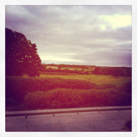 Killeen Castle : The view from the terrace