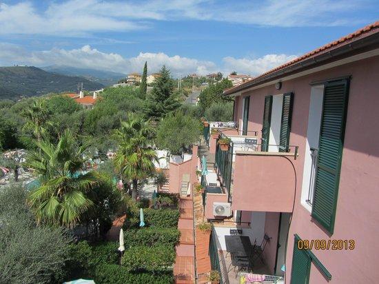 Villa Giada Resort: Utsikt från balkongen