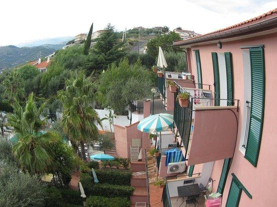 Villa Giada Resort: Utsikt från lägenheten