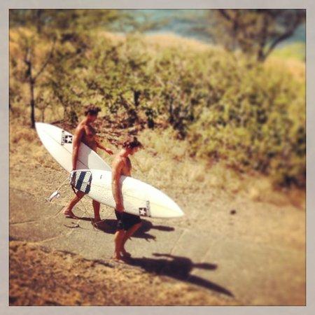 Waikiki Parc Hotel: Surfs Up
