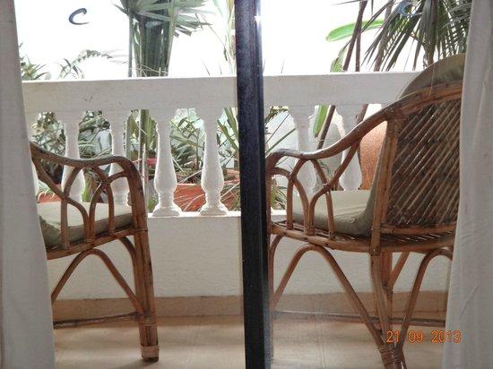 Casablanca: Balcony