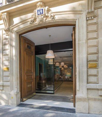 Suites & Hotel Helzear Champs-Elysees: entrée