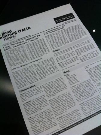 Hotel Victor Masse: Le news italiane tutte le mattine