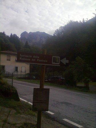 Trattoria Luciana: veduta dal parcheggio