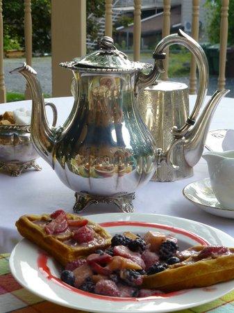 Ile de Garde: Frühstück