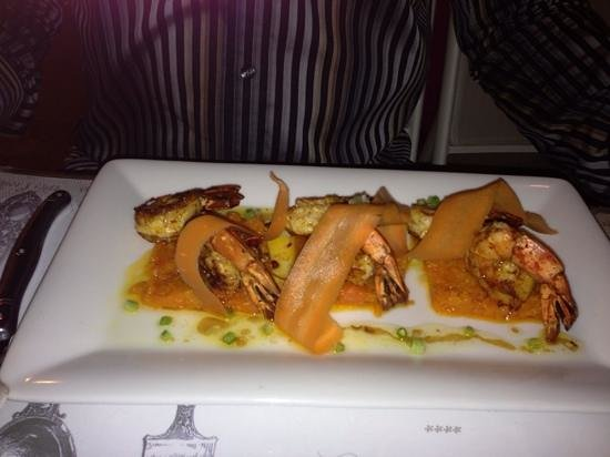 BEST WESTERN Le Patio des Artistes: prawn dish