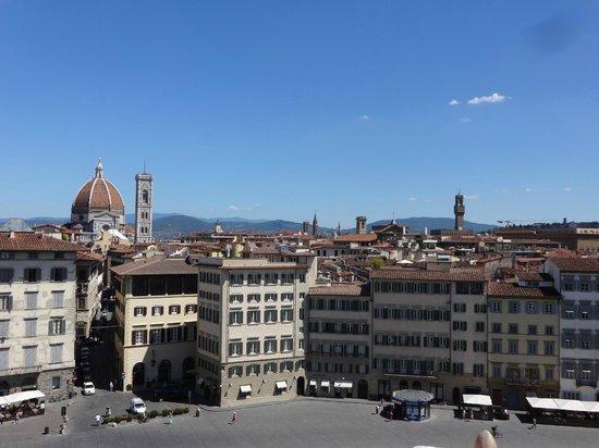 Grand Hotel Minerva: Vista desde la terraza