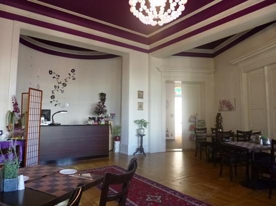 Stadtperle-Rostock: Lobby of the hotel
