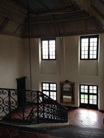 Le Grand Hotel de l'Abbaye : L'escalier