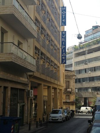 Evripides Hotel : L'hotel