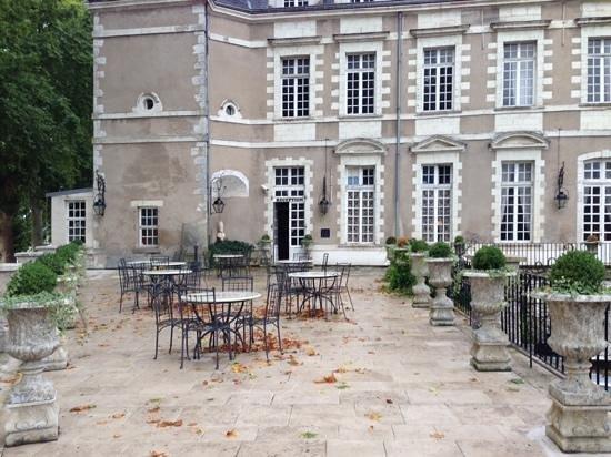 Le Grand Hotel de l'Abbaye : La terrasse