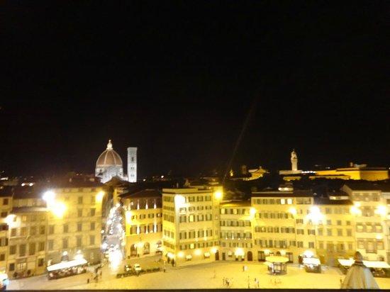 Grand Hotel Minerva: magnifica Florencia desde la terraza
