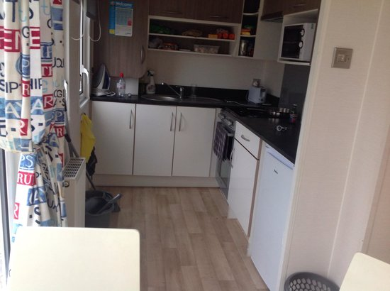 Kitchen in summer house - Picture of Lakeland Holiday Park - Haven ...