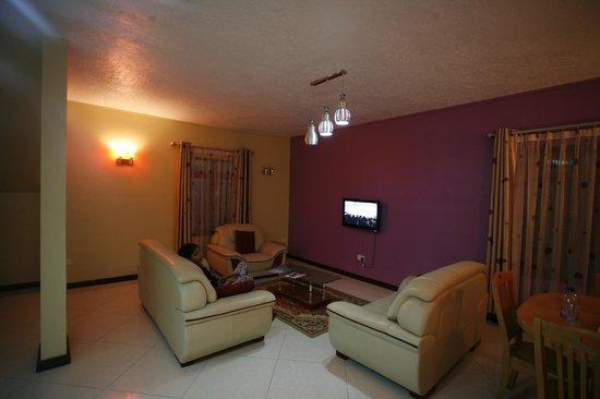 Orchid Villas Mauritius: Living Room