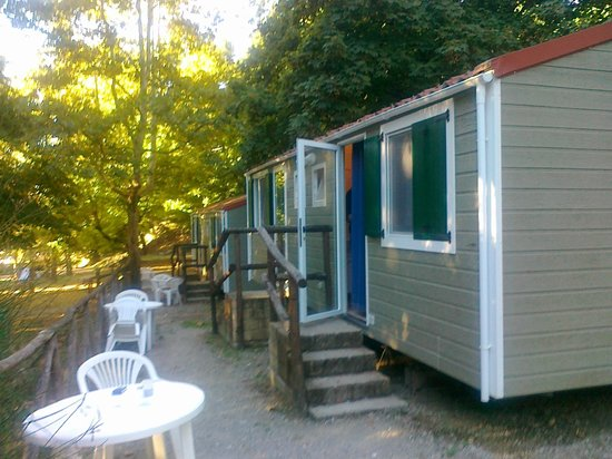 Camping Siena Colleverde: the bungalo