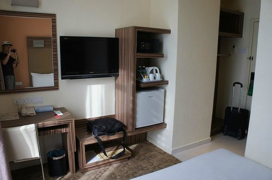 Hotel Sentral Kuantan: 室内
