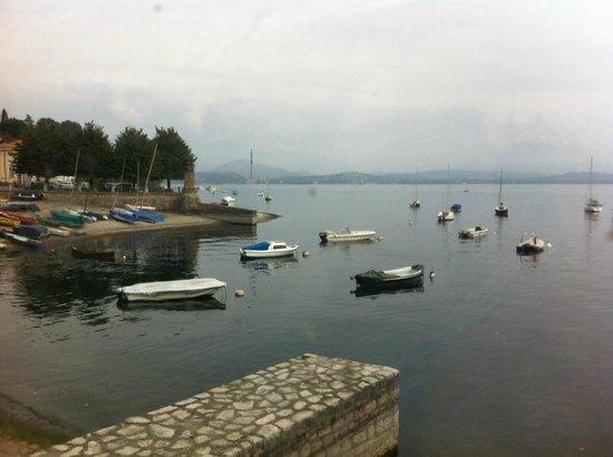 Hotel Ristorante Lago Maggiore: Panorama dal nostro tavolo